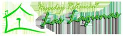 Logo del hospedaje las lagunas