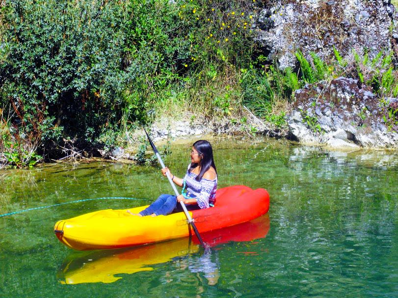 Kayak en Huancaya