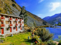 Huancaya hotel las lagunas ecolodge